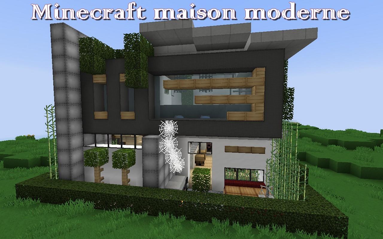 Comment faire une maison moderne dans minecraft pe for Maison moderne 06