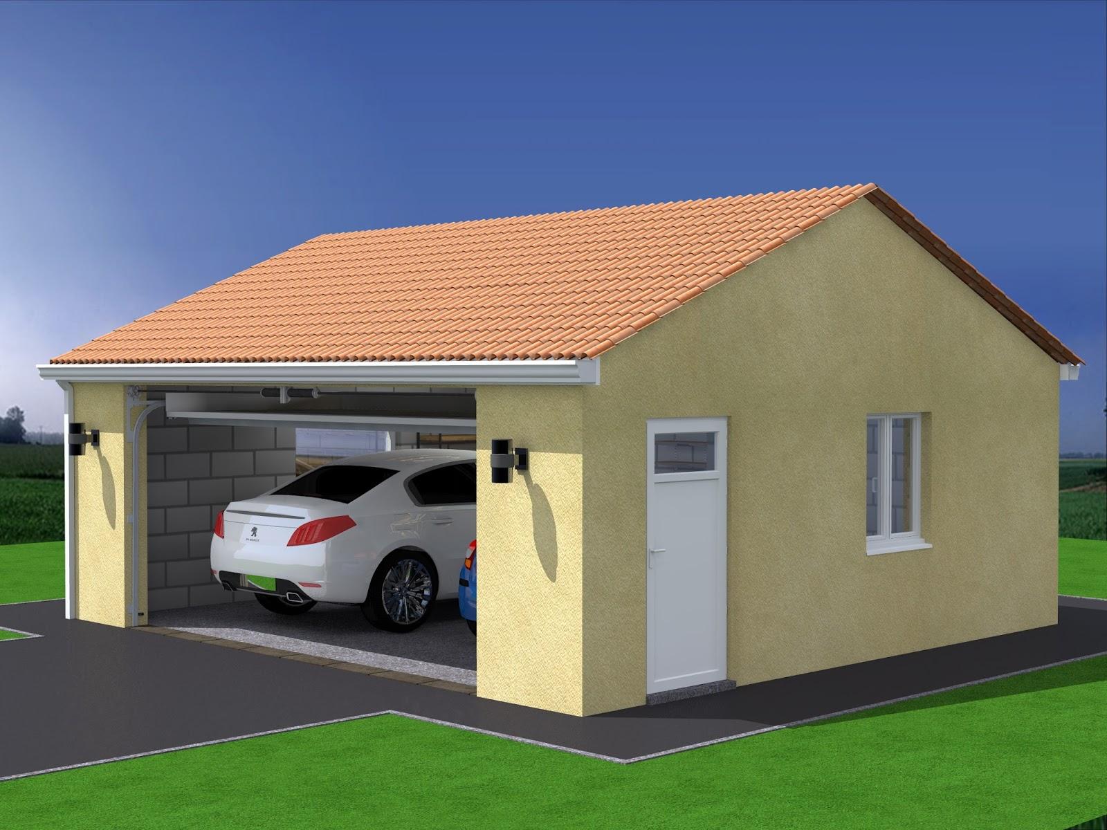 Projet garage maison fran ois fabie for Combien coute la construction d un garage de 20m2