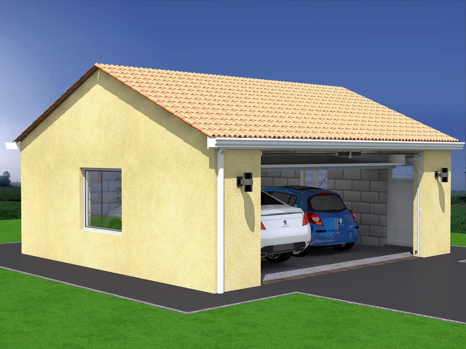 plan garage double gratuit maison fran ois fabie. Black Bedroom Furniture Sets. Home Design Ideas
